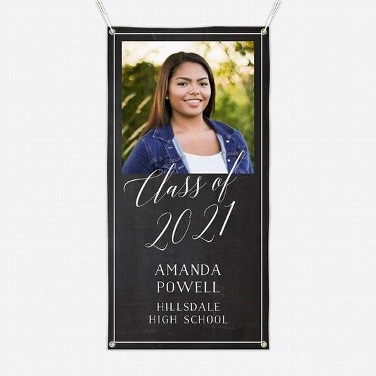 Elegant Chalkboard Graduation Banners