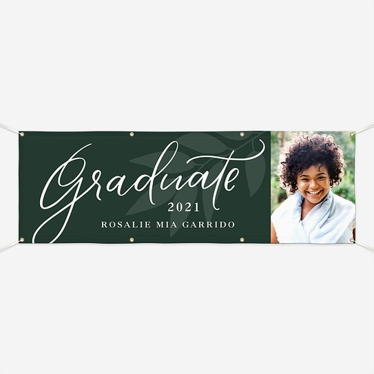 Breezy Nature Graduation Banners
