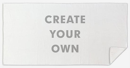 Create Your Own Custom Beach Towels