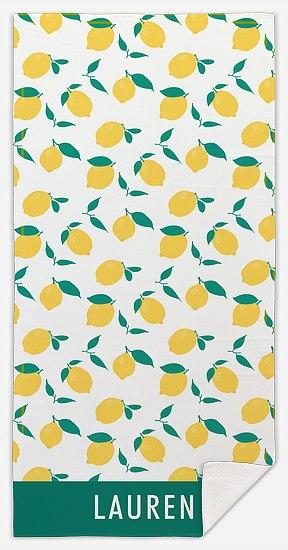 Lemonade Custom Beach Towels