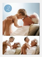 Personalized Photo Cards - Script Initial