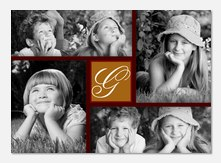 Photo Announcements - Four Frame Initial
