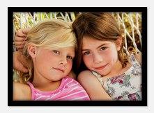 Personalized Photo Cards - Black & White Border