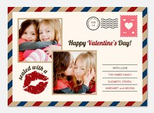 Valentine Photo Cards - Love Letter