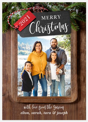 Tags & Timber Holiday Photo Cards