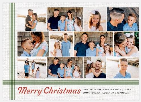 Flemish Bond Holiday Photo Cards