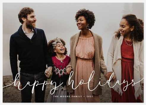 A Little Whimsy Holiday Photo Cards