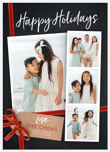 Holiday Snapshots Holiday Photo Cards