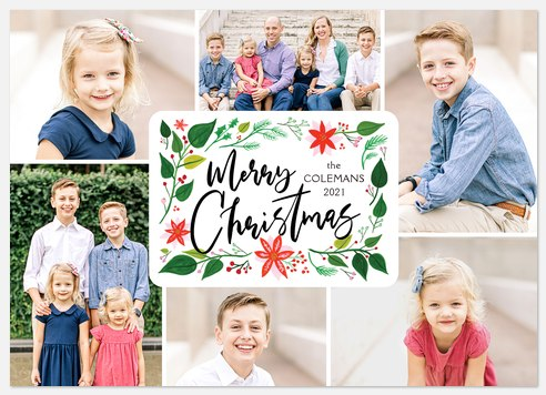 Holiday Vines Holiday Photo Cards