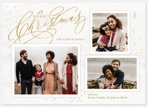 With Flourish Holiday Photo Cards