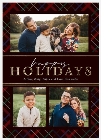 Banded Brand Holiday Photo Cards