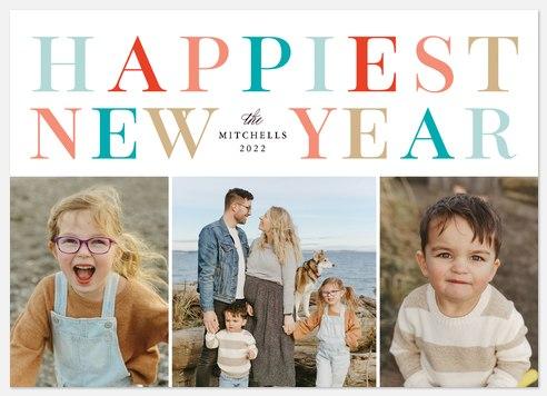 Splendid Year Holiday Photo Cards