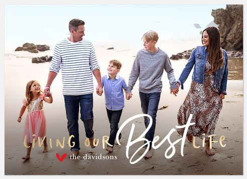 Our Best Life Holiday Photo Cards