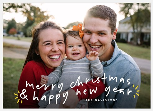 Holiday Wave Holiday Photo Cards