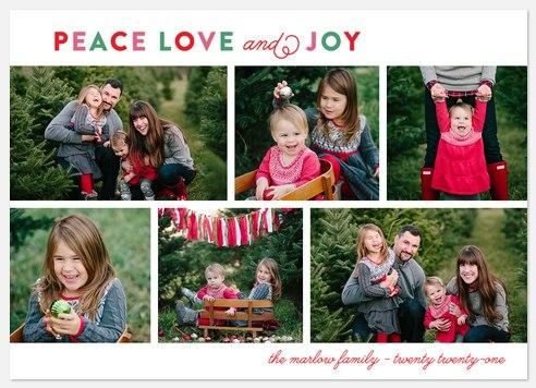 Holiday Medley Holiday Photo Cards