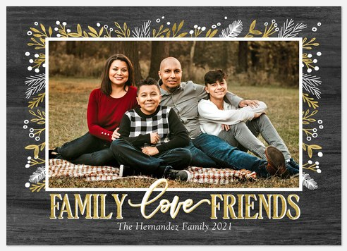 Family & Friends Holiday Photo Cards