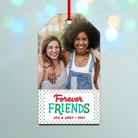 Forever Friends Custom Ornaments