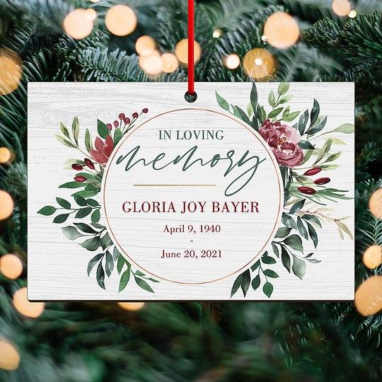 Wintergreen Memories Custom Ornaments