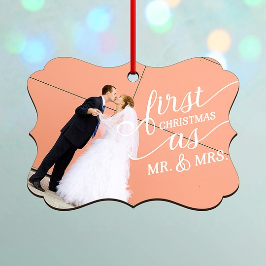 Our First Custom Ornaments