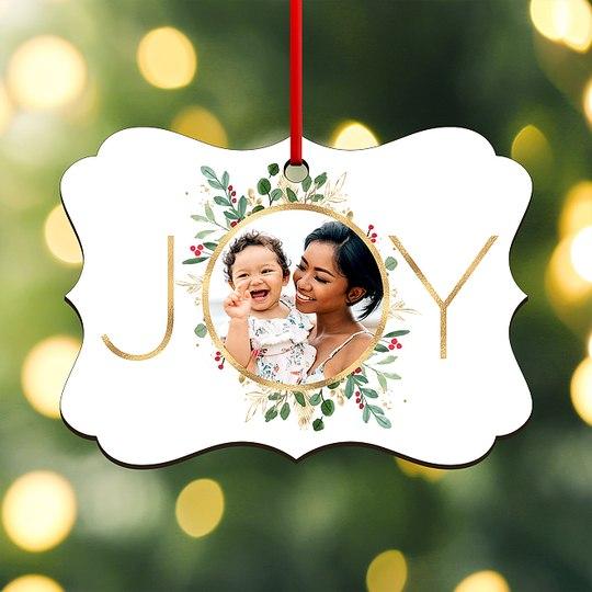 Holly Joy Custom Ornaments